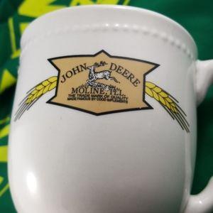 JOHN DEERE Coffee Mug RARE Moline ILL Wheat (12oz)